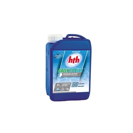 hth® GREEN TO BLUE EXTRA SHOCK 5 litres