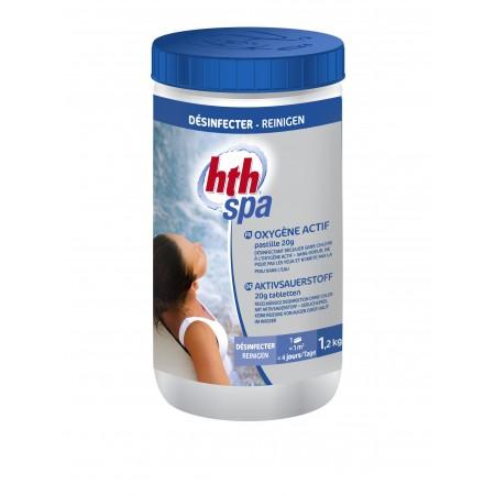 Oxygene Actif Hth Spa pastilles 20g